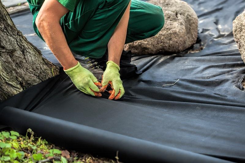 Landscape mat